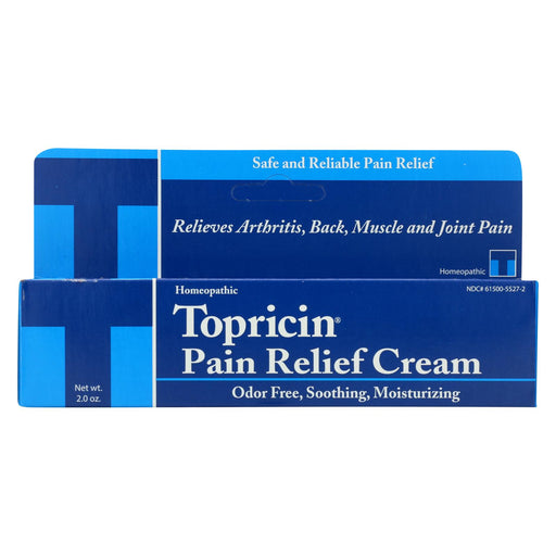 Topricin Anti-inflammatory Pain Relief Cream - 2 Oz