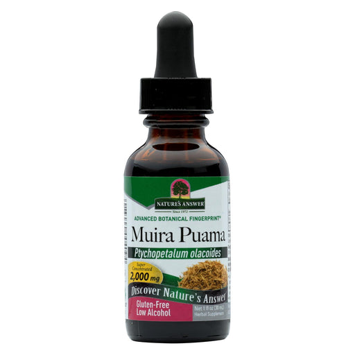 Nature's Answer - Muira Puama Root - 1 Fl Oz