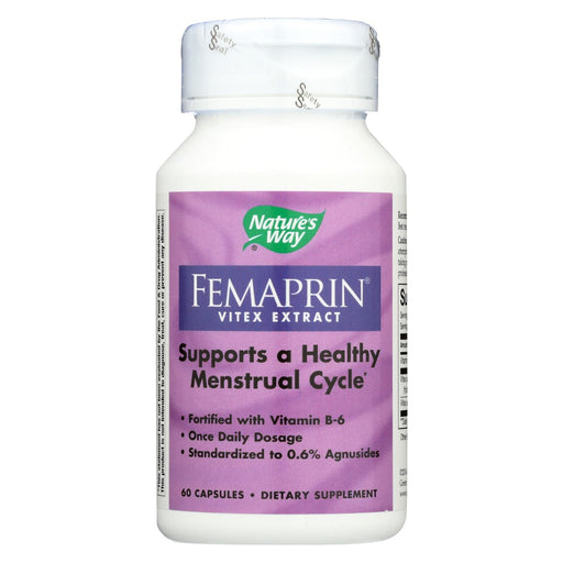 Nature's Way - Femaprin Vitex Extract - 60 Caps