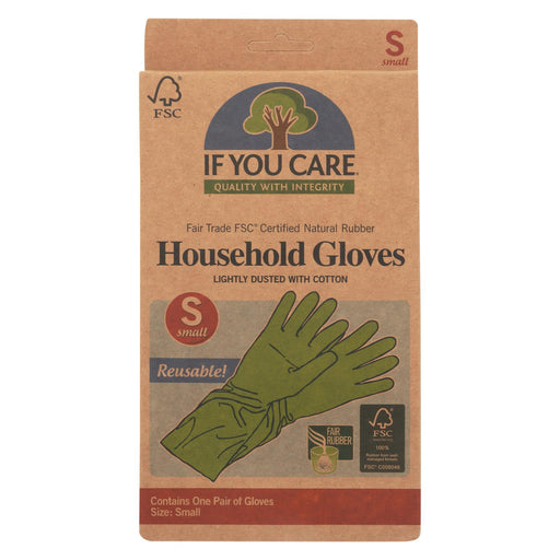 If You Care Household Gloves - Small - 1 Pair