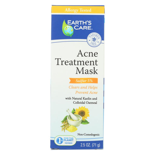 Earth's Care Acne Treatment Mask - 2.5 Oz