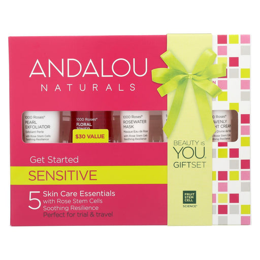 Andalou Naturals Get Started Kit - 1000 Roses - 5 Pieces