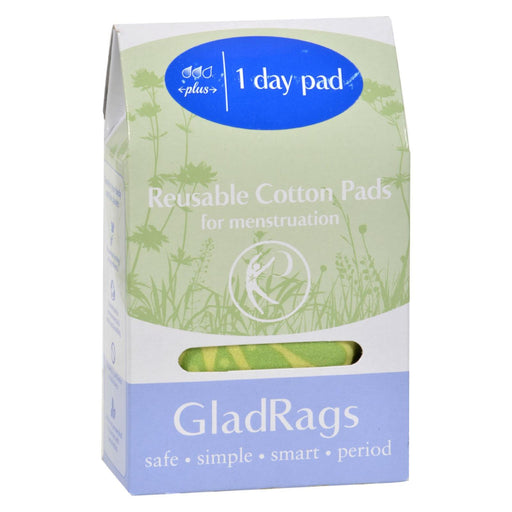 Gladrags Day Pad - Plus - Cotton - Color - 1 Count