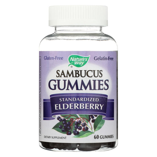 Nature's Way - Sambucus Gummies - 60 Count