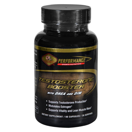 Olympian Labs Testosterone Booster - Performance Sports Nutrition - 60 Capsules