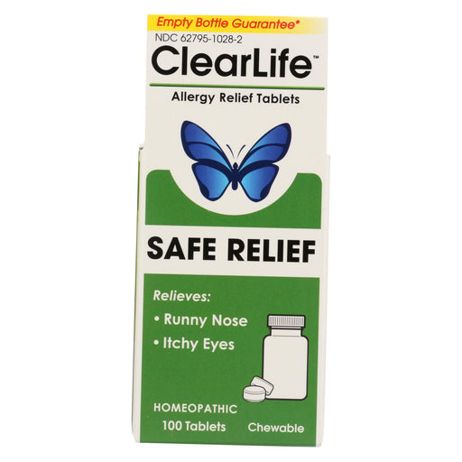 Clearlife - Allergy Relief Tablets - 100 Tablets