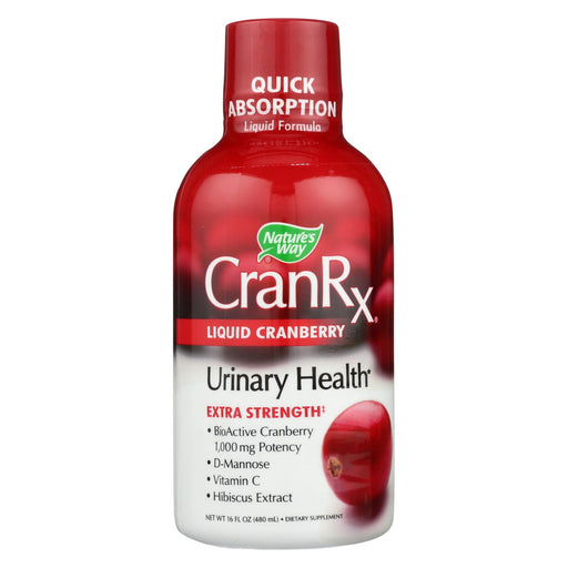 Nature's Way - Cranberry Rx - Liquid Cranberry - Extra Strength - 16 Oz