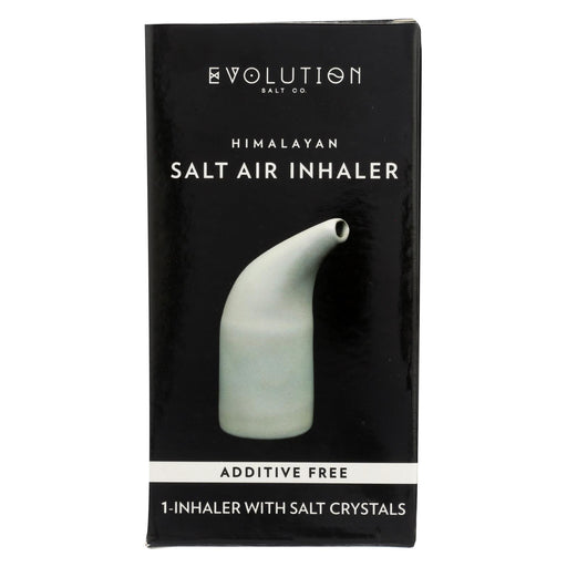 Evolution Salt Inhaler - Ceramic - Crystal Salt - 1 Count