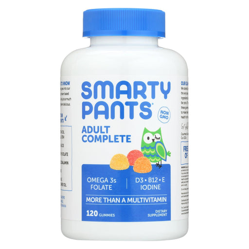 Smartypants Gummy Vitamin - Adult Complete - 120 Count