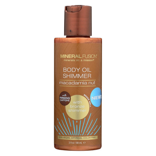 Mineral Fusion - Body Oil Shimmer - Bronze - 3 Fl Oz.