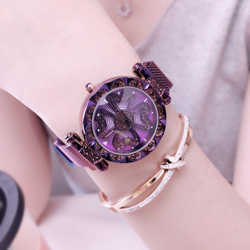 Luxury Lucky Clover Rotating Watch--Buy 2 Free Shipping