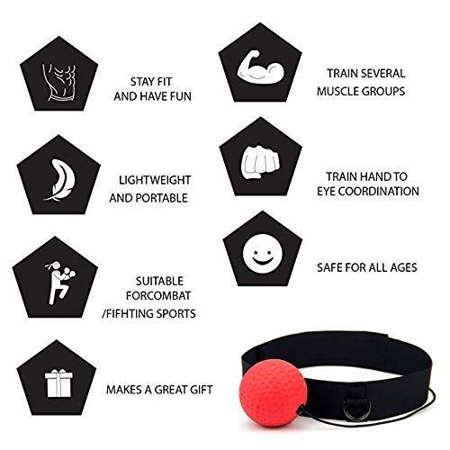 React Reflex Boxing Ball Set for Kid & Adult