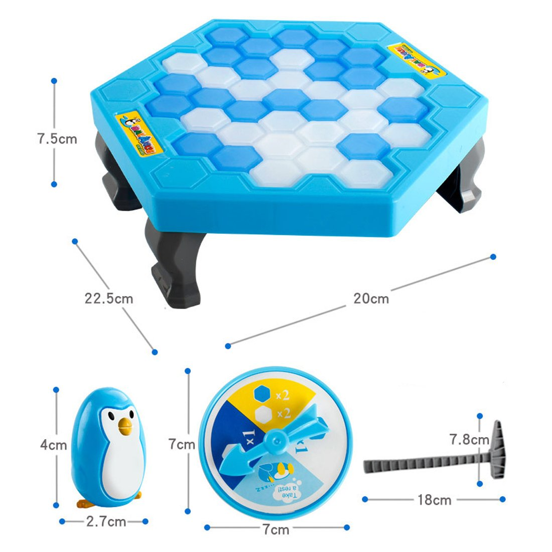 Ice-block Breaking Game Save Penguin Table Game