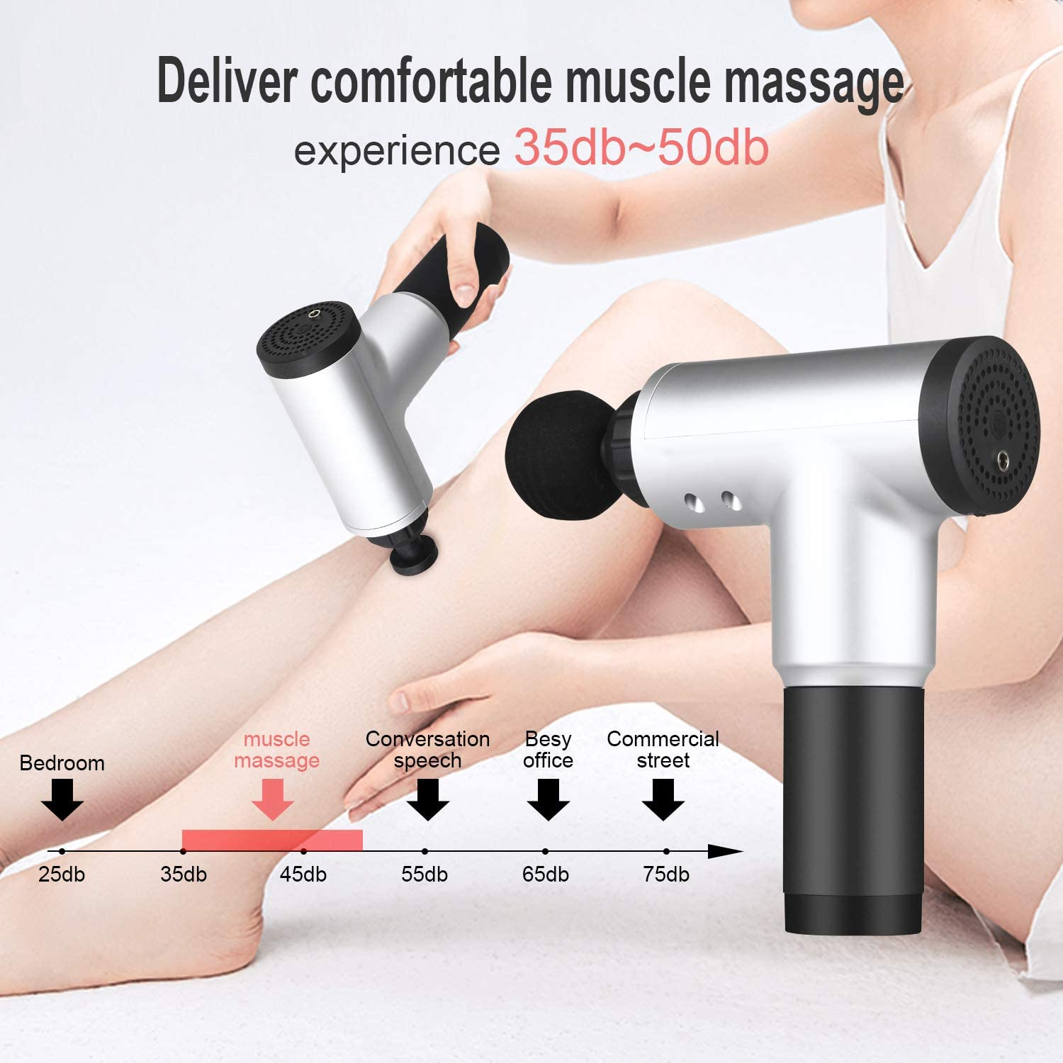 50%off Cordless Deep Tissue Muscle Massage Gun