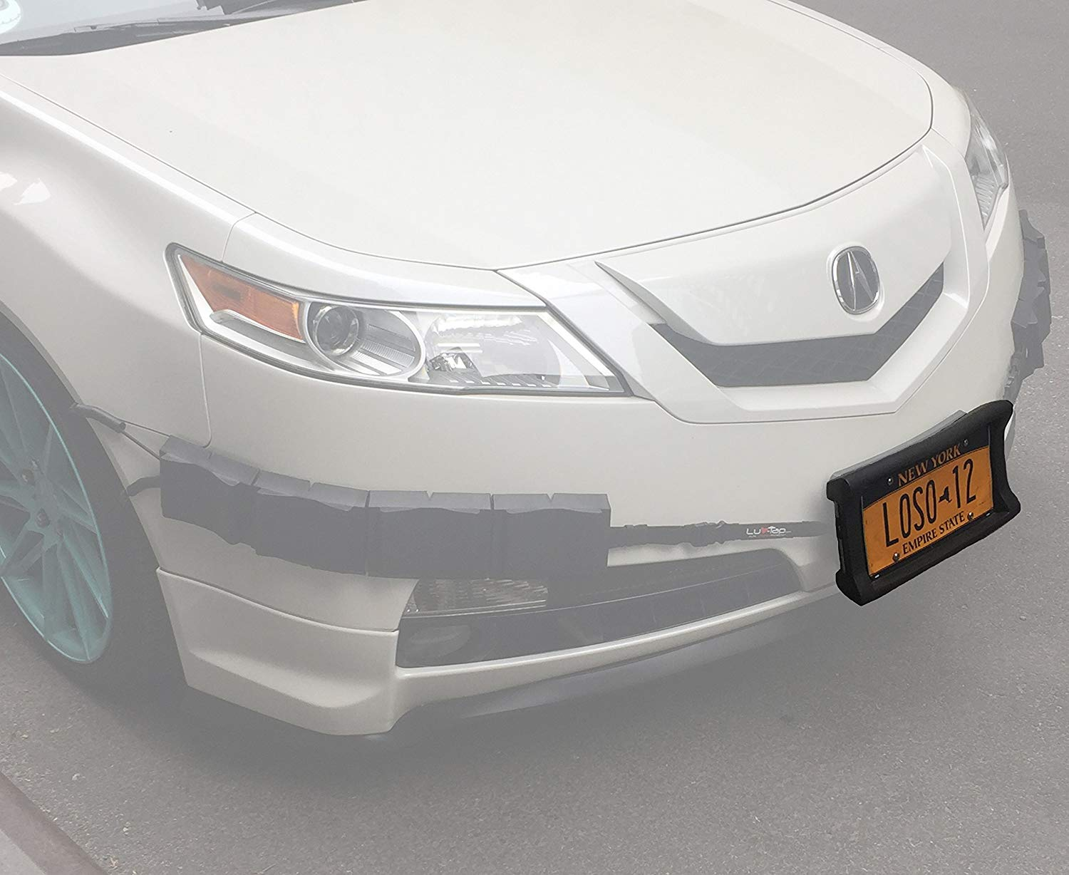 Front Car Bumper Guard License Plate Frame Tougher Than Steel