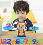 Balance Monkey Count Math Game for Girls & Boys