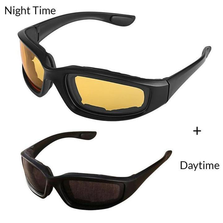 Anti-Glare Motorcycle Riding Glasses Night Vision Driving Glasses