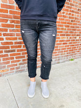 Load image into Gallery viewer, Risen Black Vintage Straight Leg Jeans