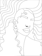 Load image into Gallery viewer, Bronz'd Coloring Page