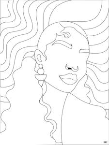 Bronz'd Coloring Page