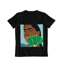 Load image into Gallery viewer, Black Women's Equal Pay Unisex Tee