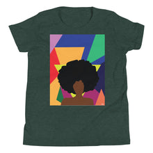 Load image into Gallery viewer, Afro Girl Youth Tee