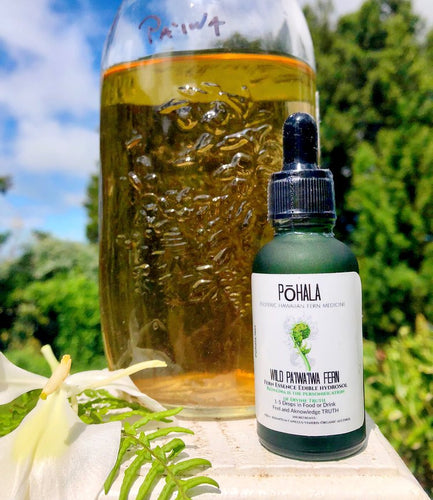 Pa'iwa'iwa Fern Essence Edible Hydrosol (TRUTH)