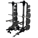 Warrior Strength Deluxe Squat Rack