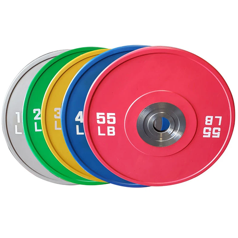 Warrior Strength Pro Series Bumper Plates
