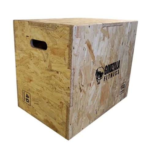 Godzilla Fitness Wooden Plyobox