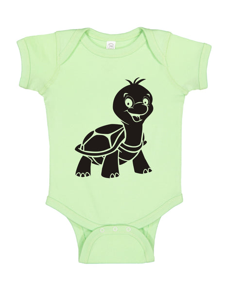 "INFANT ONESIE FOR A SPECIAL BABY.""LITTLE TURTLE!"""
