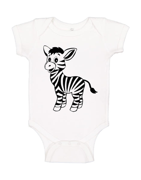 "INFANT ONESIE FOR A SPECIAL BABY.""LITTLE ZEBRA!"""