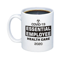 COVID-19 11 oz. C-HANDLE CERAMIC COFFEE MUG