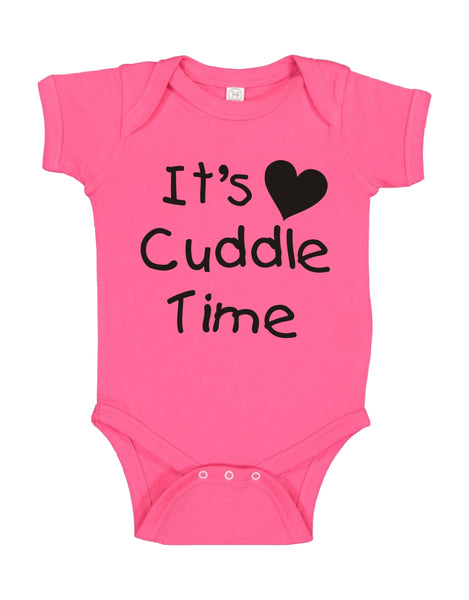 "INFANT ONESIE FOR A SPECIAL BABY... ""IT'S CUDDLE TIME"""