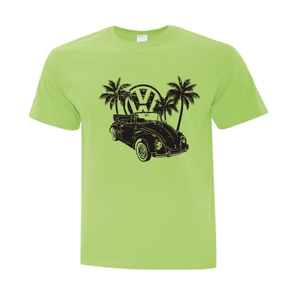 Every Day Summer Wear -VW Beetle and Palm Trees