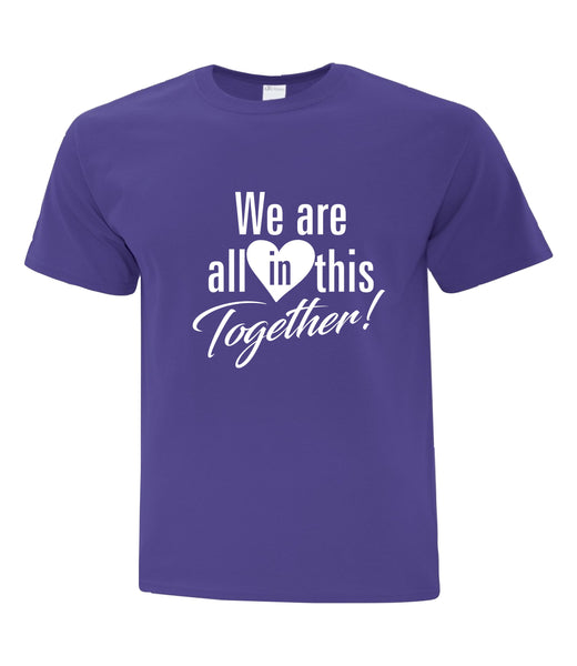 COVID-19 TEE SHIRT - We are All In This Together!