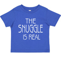 INFANT T-SHIRT FOR YOUR SPECIAL BABY, THE SNUGGLE IS REAL!!
