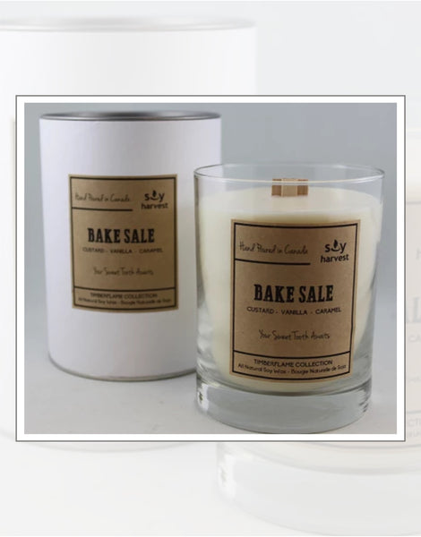Soy Harvest Candles Timber Flame Collection Bake Sale