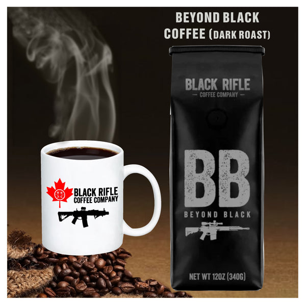 Black Rifle Coffee Company - Beyond Black Dark Roast Coffee