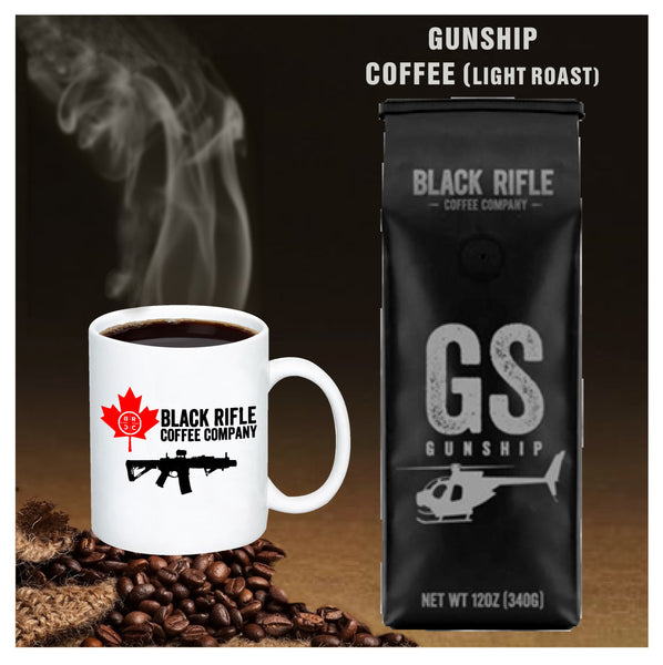 Black Rifle Coffee Company -  Gunship Light Roast Coffee