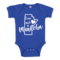 INFANT ONESIE FOR A SPECIAL BABY... I WAS MADE IN MANITOBA