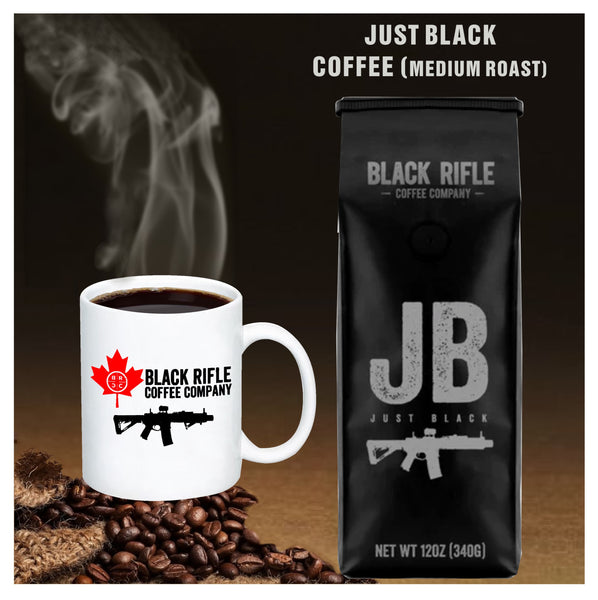Black Rifle Coffee Company - Just Black Medium Roast Coffee