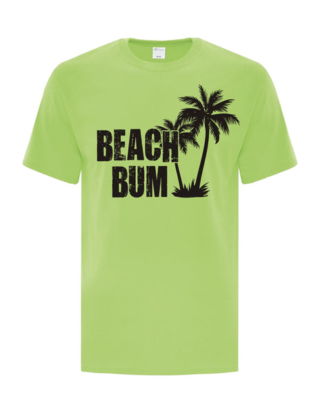 UNISEX T-Shirt Printed with Beach Bum