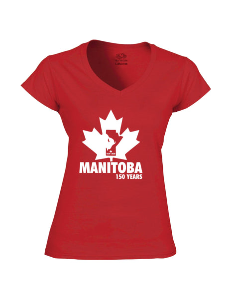 MANITOBA HOME CELEBRATES 150 YEARS. MANITOBA FACT SHIRT