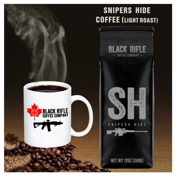 Black Rifle Coffee Company -  Snipers Hide Light Roast Coffee