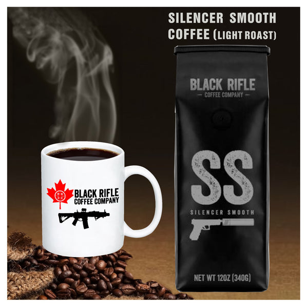 Black Rifle Coffee Company -  Silencer Smooth Light Roast Coffee