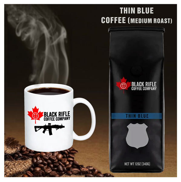 Black Rifle Coffee Company -  Thin Blue Medium Roast Coffee