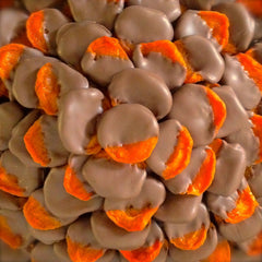 Apricots ~ California-Grown, Sun-Dried, Hand-Dipped in Milk Chocolate