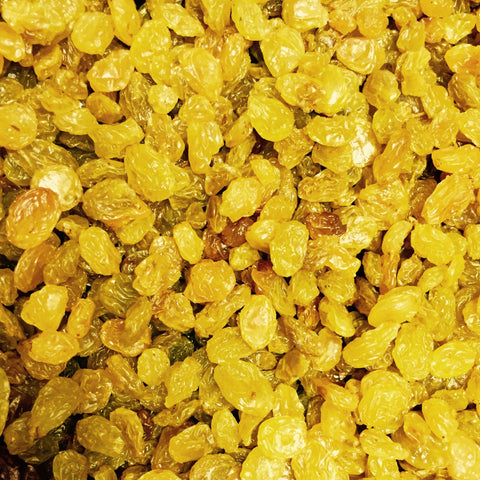 Raisins ~ California-Grown, Sun-Dried, Golden
