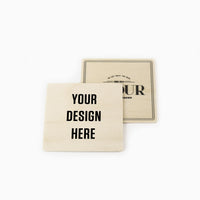 Drinks coasters - Square  - 100pcs